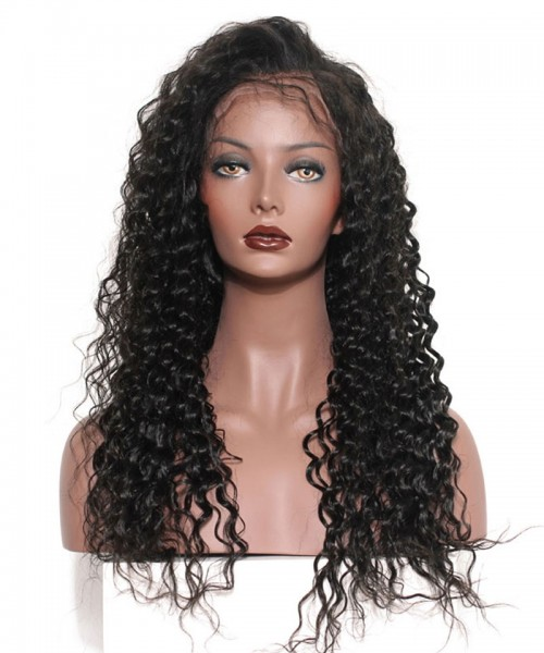Invisilace 360 Lace Wigs Human Hair Deep Wave 150% Density