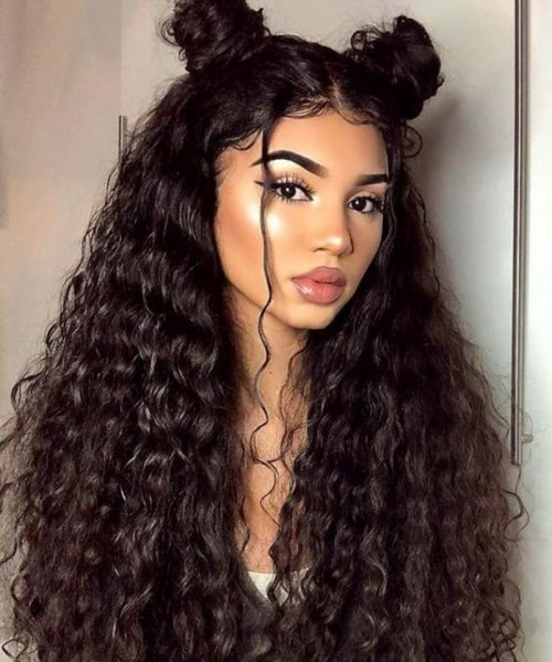 Invisilace Loose Wave 13x6 Lace Front Human Hair Wig 150% Density Transparent Lace Wig