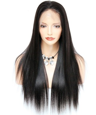 Invisilace Fake Scalp 13x6 Lace Front Wigs Straight 150% Density