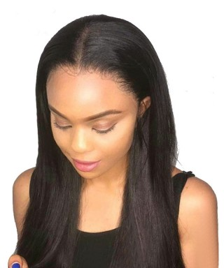 Invisilace 13x6 Lace Front Human Hair Wigs Straight 150% Density