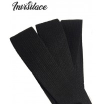 Invisilace Wig Elastic Band 30cm Black Color For Making Wigs